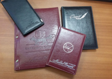 Тиснение на папках и обложках