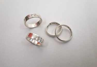Кольца серебро